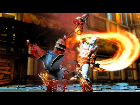God Of War 3 Remastered Kratos Kills Hermes Hd 60fps 1080p