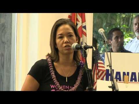 Jill Tokuda endorses Colleen Hanabusa