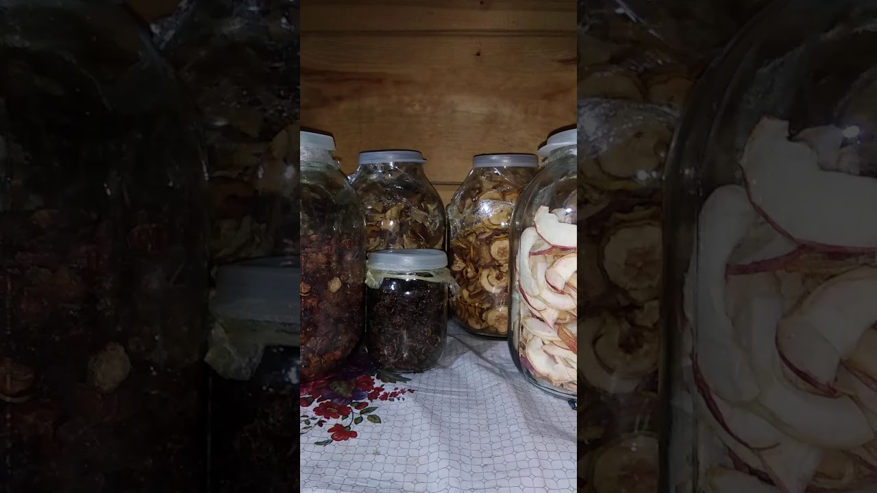 Как сохранить ягоды, грибы и фрукты. - YouTube