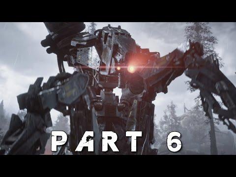 HORIZON ZERO DAWN Walkthrough Gameplay Part 6 - Demon (PS4 Pro)