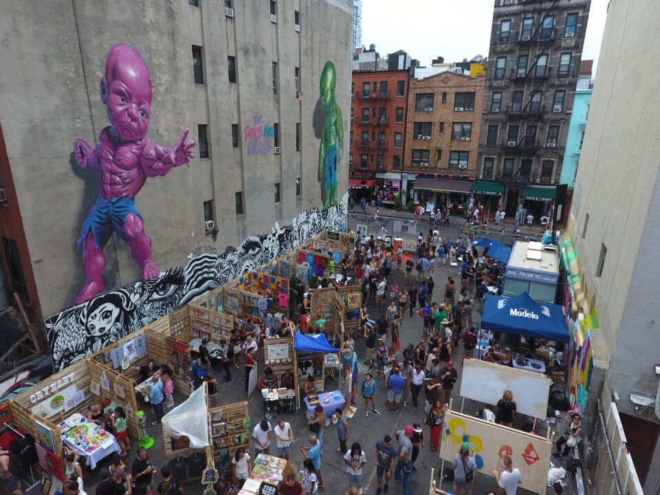 The LoMan Art Bazaar!!