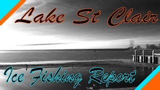 Lake St. Clair Ice Fishing Report 3/25/19 thumbnail