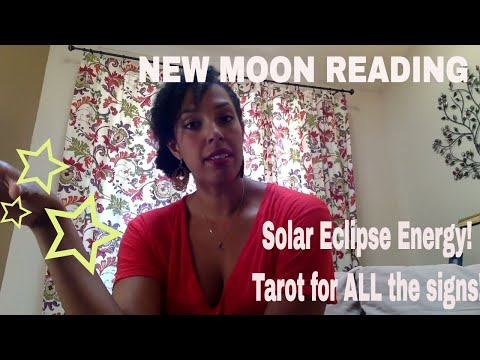 NEW MOON IN LEO and SOLAR ECLIPSE! | FOLLOW WITH HEART | ALL SIGNS INCLUDED