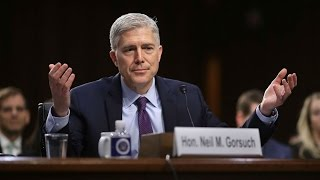 Supreme court nominee faces tough questions on religious freedom during confirmation hearings HD