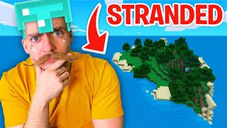 STUCK on an Island in Minecraft!