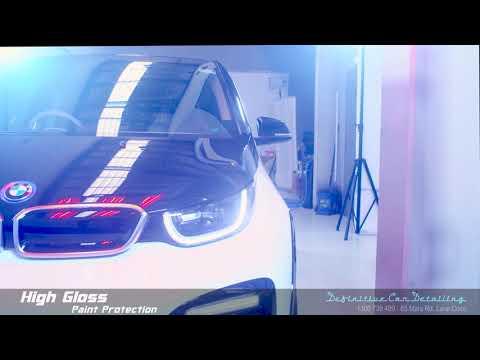 BMW i3 Capparis White Panda Definitive Sydney Liquid Glass Ceramic Coating High Gloss Paint Protecti