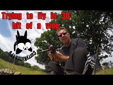 3D quad flying attempt: Vlog and narration and other stuff !