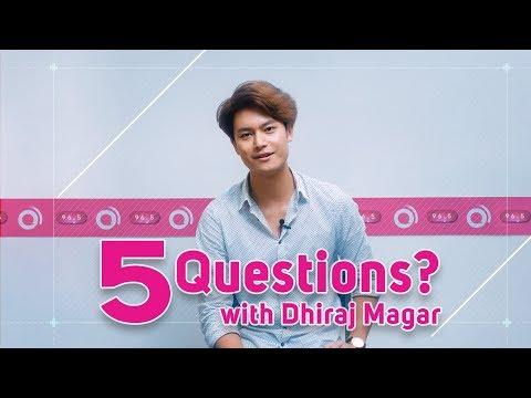 5 Questions with Intu Mintu London Ma actor | Dhiraj Magar