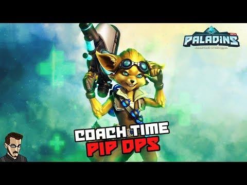 Paladins FR  - Coach Time BOuDGi joue Pip dps