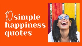 Simple Quotes About Life And Happiness   World Mental Health Day Special