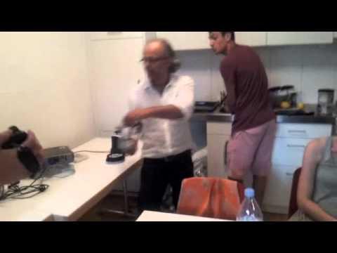 Kochen über Skype