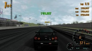 Gran Turismo 3 - Nissan Skyline GT-R V-spec (R34) '99 PS2 Gameplay HD