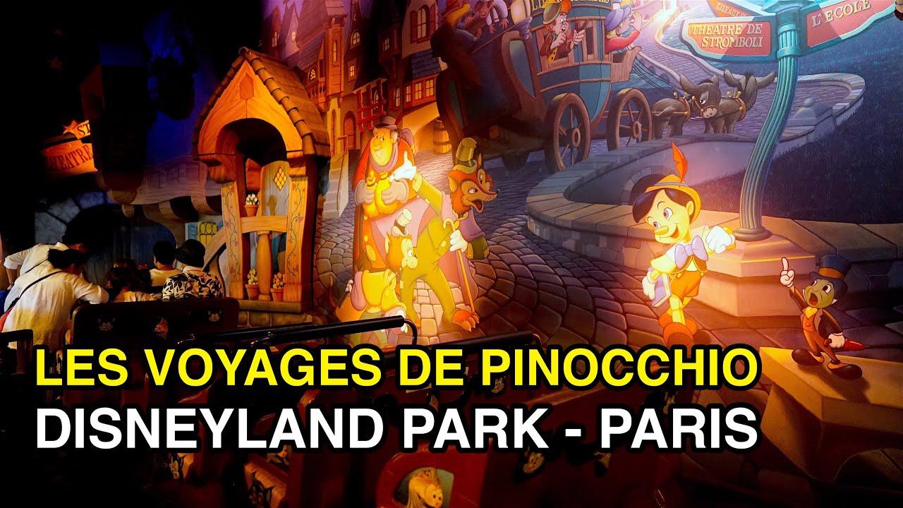 [4K] Les Voyages de Pinocchio - Puppet Show : Disneyland Park (Paris, France)
