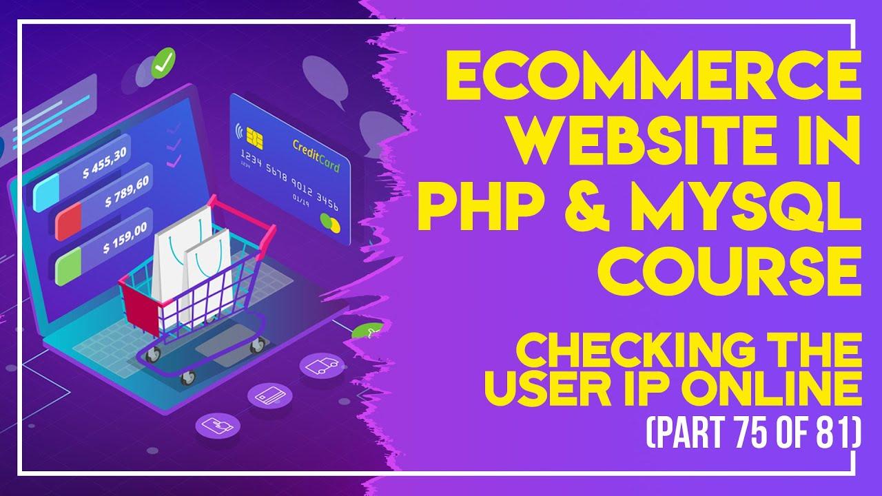 E-Commerce website in PHP & MySQL in Urdu/Hindi part 75 uploading the eCommerce to online server