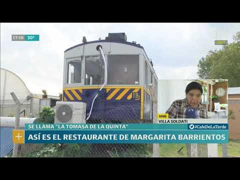Así es el restaurante de Margarita Barrientos - Café de la Tarde