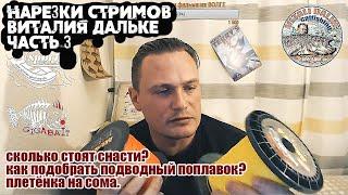 Ответы на вопросы о ловле сома Часть 3 нарезки стримов Виталия Дальке