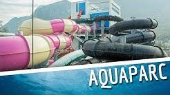 Aquaparc Le Bouveret - All Water Slides (Tous les toboggans) GoPro Onride POV