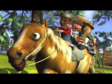 Meu Cavalo Meu Bretão   rimas em português   A Fazenda do Zenon 3   O Reino das Crianças
