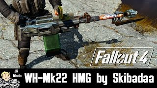 Fallout 4 Mod Showcase: WH-Mk22 Heavy Machinegun by Skibadaa