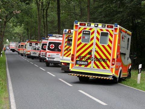 MANV in Handeloh - 29 Verletzte in Kliniken gebracht