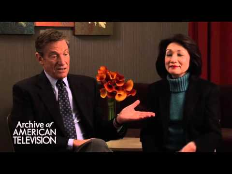 Maury Povich & Connie Chung discuss how they met - EMMYTVLEGENDS.ORG