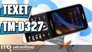 teXet TM-D327 обзор телефона