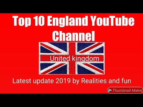 British Top 10 Youtuber. English Top 10 Youtubers. Most Subscribed YouTube Channel In United Kingdom