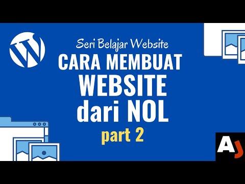 Cara Buat Website dari NOL part 2 | Dasar-dasar WordPress | Seri Belajar Website