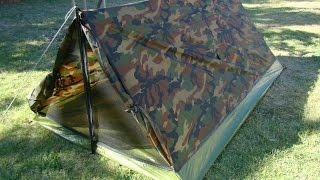 2 Person 3.5 Pound $30.00 Camo Tent - Texsport Trail Tent