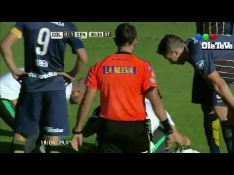 A lo Messi: un jugador de Central se descompuso y vomitó en pleno encuentro