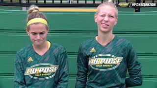 Field Hockey Win vs. SNHU Postgame Interviews and Highlights