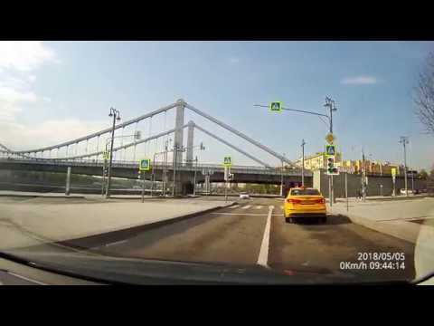 Driving in Real Time with Sound: the Spring streets of Moscow, May 2018, 1440p.