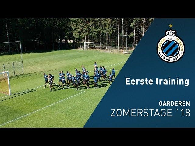 Zomerstage 2018: Eerste Training Garderen