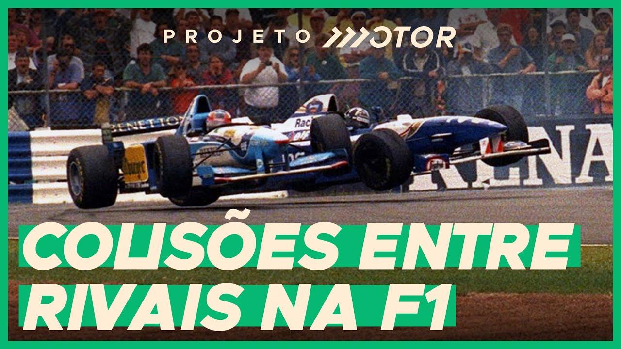 12 VEZES EM QUE RIVAIS PELO TÍTULO BATERAM NA F1
