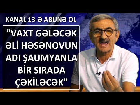 'Əli Həsənov dövlətə