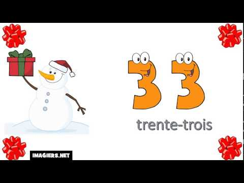25 Minutes To Learn French During Your Holiday Break # Numbers From 0 To 100