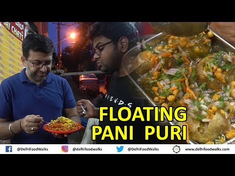 FLOATING Pani Puri | GOBI Manchurian - STREET Fusion Food of Bangalore I Bangalore Food Tour