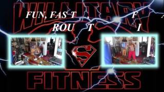 WILLITARY POWER ROUTINES AD VID!!HAVE FUN SHARE!ROCKING WITH THE BEST!