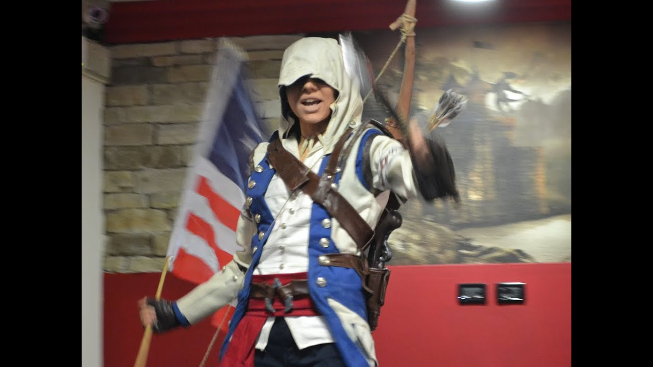 Connor Kenway Assassin S Creed 3 Cosplay 2014 Youtube
