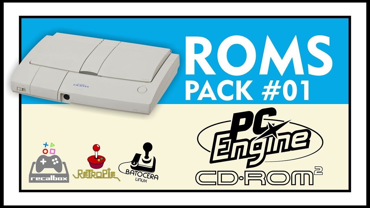 DOWNLOAD ROMS OF PC ENGINE CD / TURBOGRAFX-CD - PACK #1