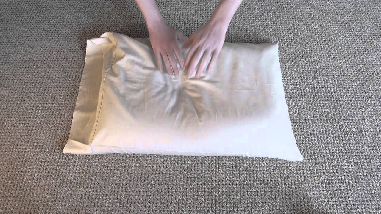 Hullo Buckwheat Pillow Fluffing - YouTube