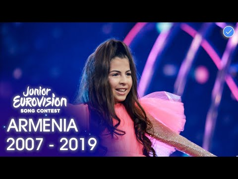 Armenia At The Junior Eurovision Song Contest 2007 - 2019