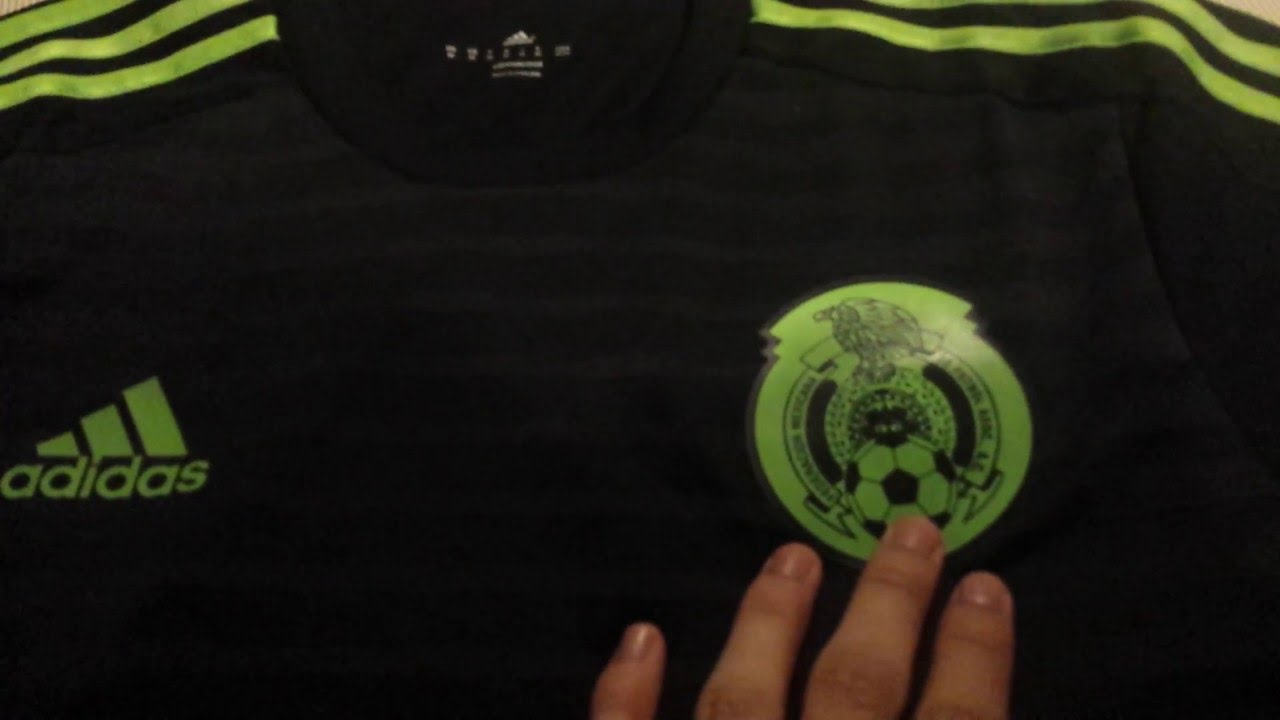 a01391fdd Adidas Authentic Mexico 2015 Home Jersey Review - YouTube