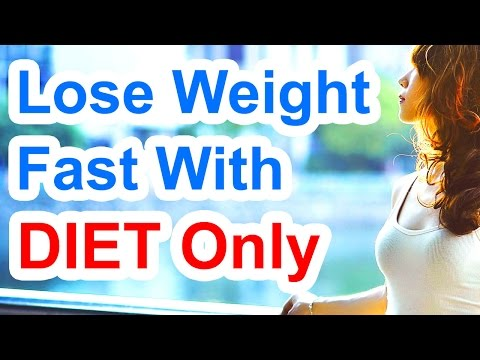 ◎◎ How To Lose Weight Fast With Diet Only - Crash Diet Plan
