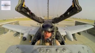 A-10 Thunderbolt II Pilot Takeoff From Bagram