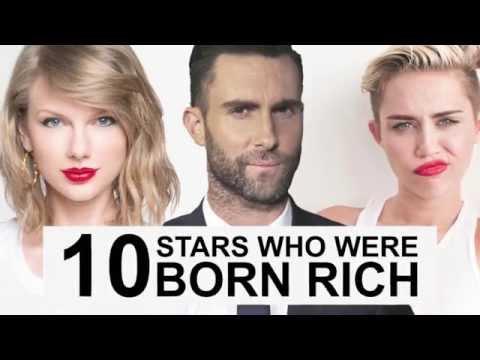 10 Stars Who Were Born Rich