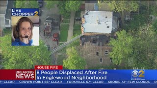 8 People Displaced After Fire In Englewood