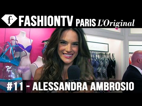 Victoria's Secret Angel Alessandra Ambrosio at Fashion's Night Out | NYFW Spring 2013 | FashionTV
