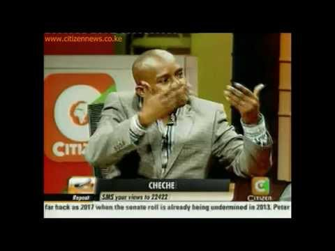 Cheche Interview: The Referendum Debate with Kindiki Kithure and James Orengo Pt 3