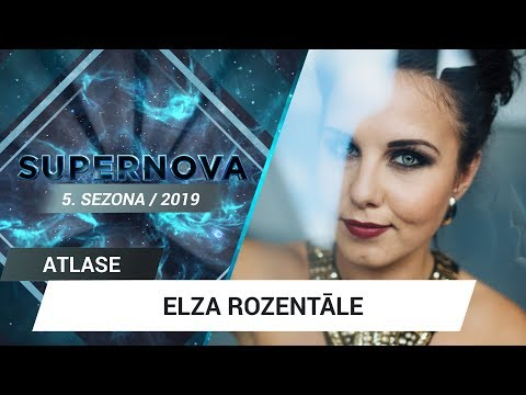 "Elza Rozent�le ""You came on tiptoe"" 